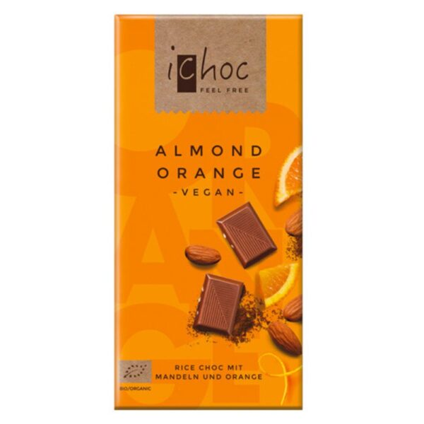 vegan ichoc almond orange vivani 1