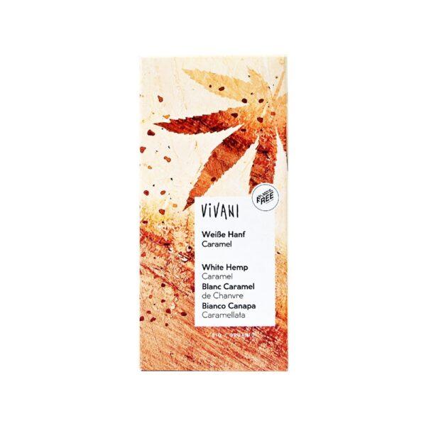 vivani sokolata leuki me karamelonemous sporous kannavis anthos alatiou viologikoproionta pou mas ksexorizoun 80g 1