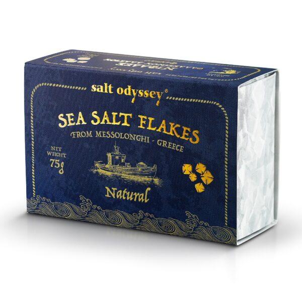 14. Salt Odyssey Sea Salt Flakes Natural
