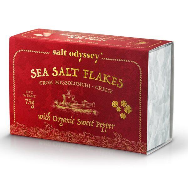 17. Salt Odyssey Sea Salt Flakes Sweet Pepper