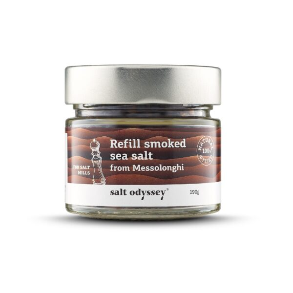 45. Salt Odyssey Smoked seas salt