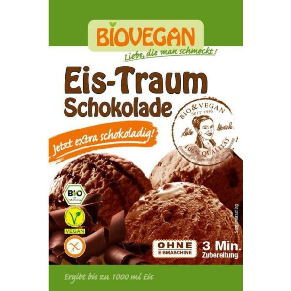 eis traum schokolade bio 89g 1 1