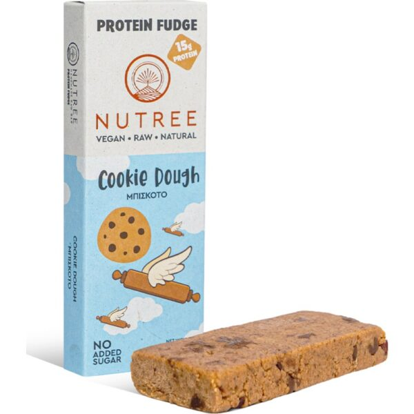 nutree protein fudge 60gr cookie dough