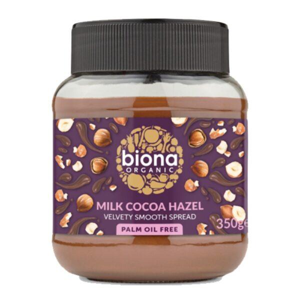 biona milk chocolate spreadl 1